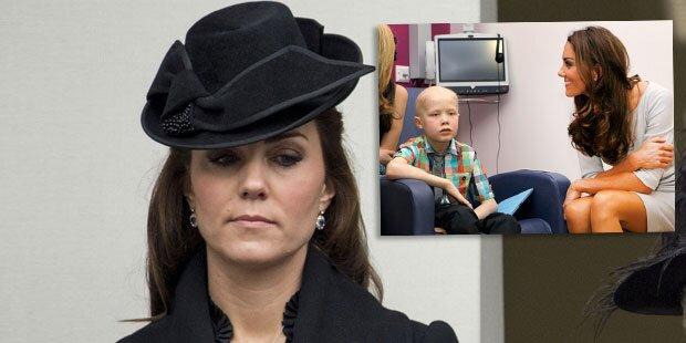 Herzogin Kate: Trauer um kleinen Bub