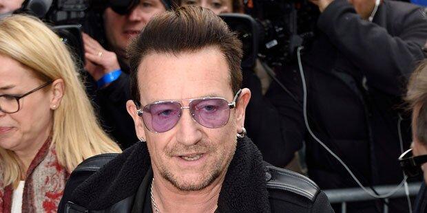 Nizza: Polizei rettete Bono von Terrasse
