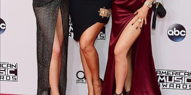 Welche Schwestern zeigen ihre Beine?