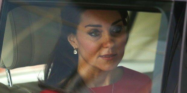 Herzogin Kate weint um Baby