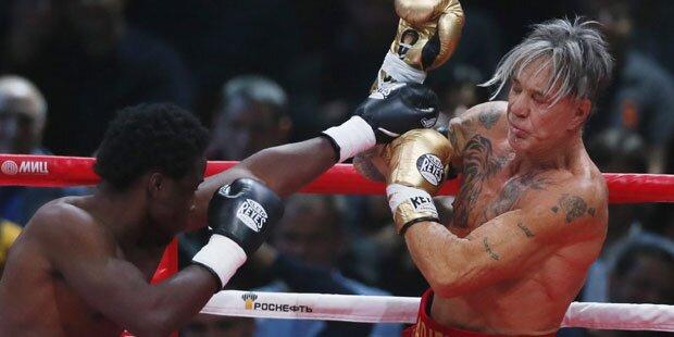 Rourke: Boxkampf nur ein Fake?