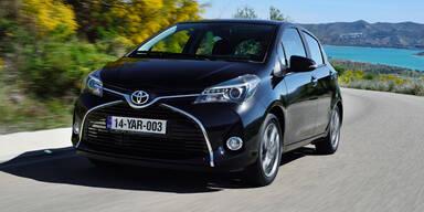 """Der """"neue"""" Toyota Yaris im Test"""