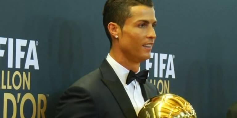 Ronaldo wird erneut Weltfußballer