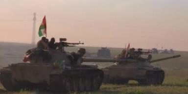 Offensive der kurdischen Peschmerga