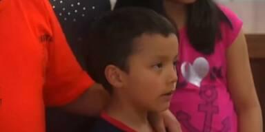 Mexiko feiert jungen Helden
