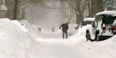 Boston bricht den Schnee-Rekord