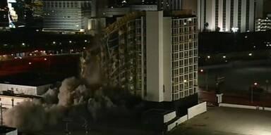 Hotel in Las Vegas wird gesprengt