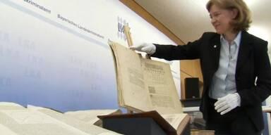 Gestohlene Bücher gehen an Italien zurück