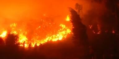 Chile leidet unter Waldbränden