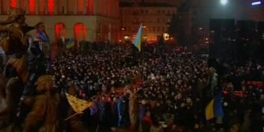 Gedenken an Maidan Opfer