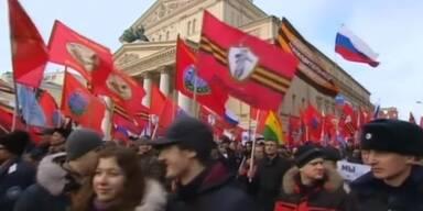 Demo: Solidarität mit Russland