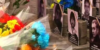 Trauer um getötete Demonstranten