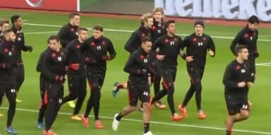Leverkusen spielt gegen Madrid