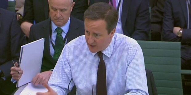Cameron will Tausende Syrer aufnehmen
