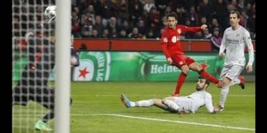 Leverkusen siegt überraschend