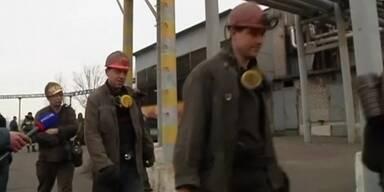 Bergwerksunglück in der Ostukraine