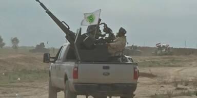 Raffinerie von IS wurde angegriffen