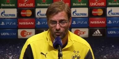Jürgen Klopp motiviert seine Mannschaft