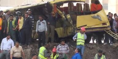 Schweres Busunglück in Kairo