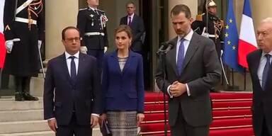 Spanischer König drückt Bestürzung aus