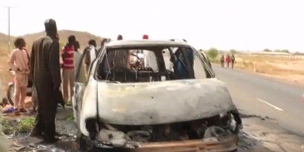 Mehr als 40 Tote bei Anschlägen in Nigeria