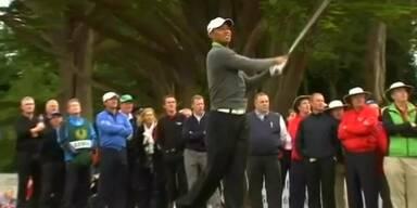 Tiger Woods spielt beim Masters