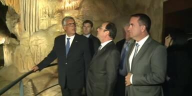Kopie der Chauvet-Höhle eingeweiht