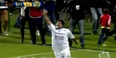 Maradona punktet für den Frieden