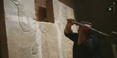 Video soll Zerstörung von Nimrud zeigen