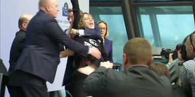 Schock für EZB Chef Dragi