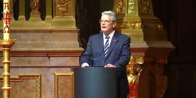 Gauck spricht von Völkermord an den Armeniern