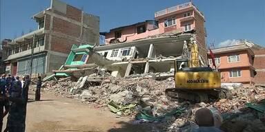 Nachbeben traf Nepal erneut schwer