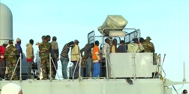 187 Menschen vor libyscher Küste gerettet