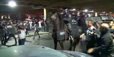 Zusammenstöße in Tel Aviv