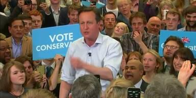 Wahlkrimi in Großbritannien