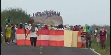 Tote bei Protesten gegen Kupfermine