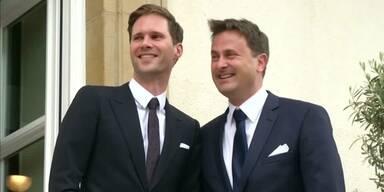 Prominente Homoehe in Luxemburg