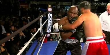 Romney boxt gegen Holyfield