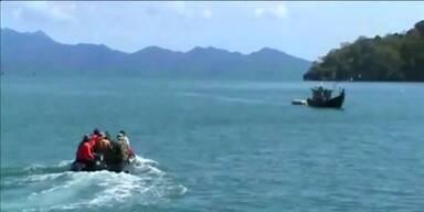 800 Bootsflüchtlinge an Land gelassen