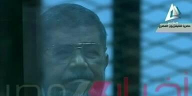Todesurteil gegen Ex-Präsident Mursi