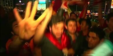 Galatasaray-Fans freuen sich über Meisterschaft