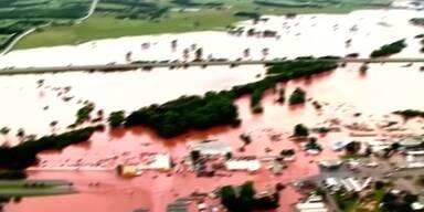 Heftige Überschwemmungen in USA
