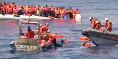 Tote auf Boot vor libyscher Küste