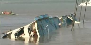 Wohl keine weiteren Überlebenden nach Schiffsunglück