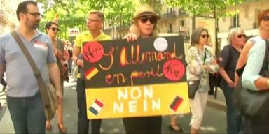 Lehrer protestieren gegen Bildungsreform