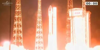 Vega-Rakete erfolgreich ins All gestartet