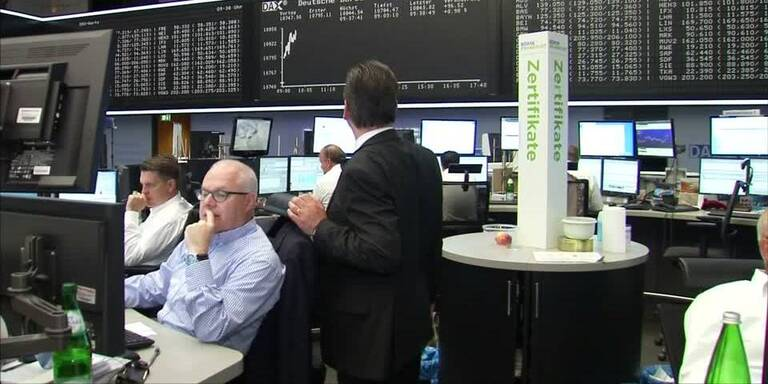 Europas Leitbörsen im grünen Bereich