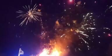 Neues Gesetz verbietet Feuerwerk