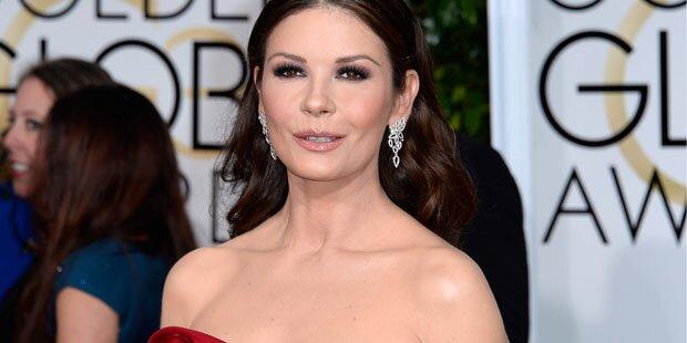 Zeta-Jones, was ist mit deinem Gesicht?