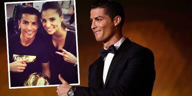 Christiano Ronaldo & Lucia Villalon